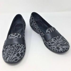 Dansko Oksana Animal Print Calf Hair Loafers 38